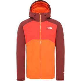 The North Face Stratos Jakke Herrer, persian orange/barolo red/fiery red